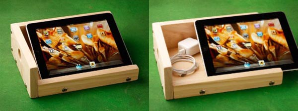 iBox: A sound-enhancing iPad stand
