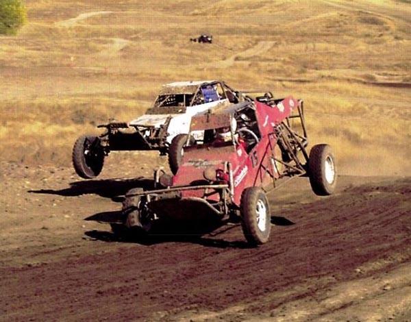 Jason Sacks in Xtreme Outlaw 250 race