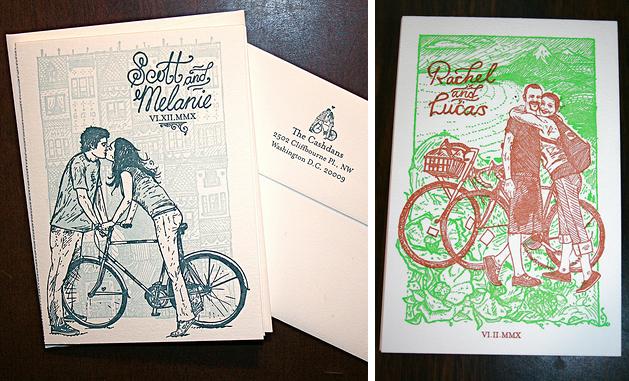 Wedding Invites by Keegan Meegan Press & Bindery
