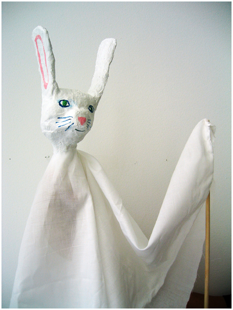 Paper Mache & Fabric Puppet