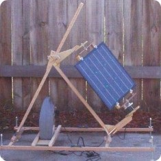 Small-scale Solar Trackers & A DIY Solar Bicycle Rack