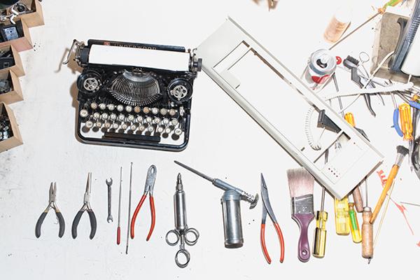 Typewriter repairmen on Wired