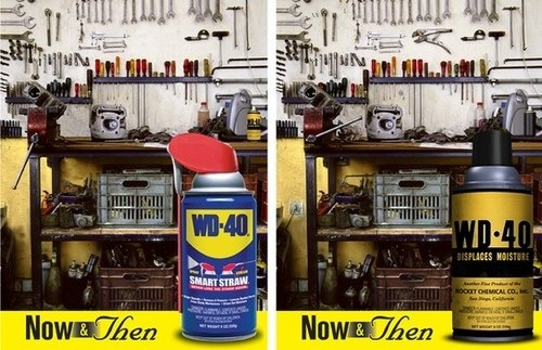 """WD-40 """"Now & Then"""""""