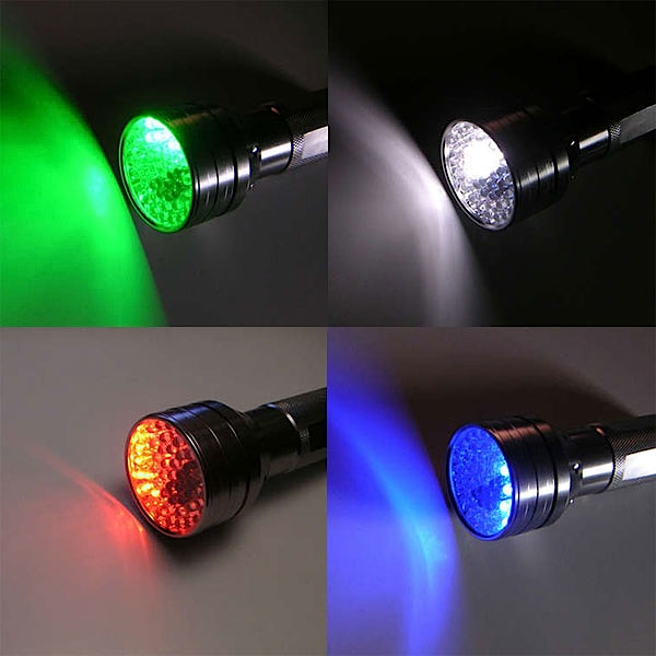 How-To: Multicolor LED flashlight