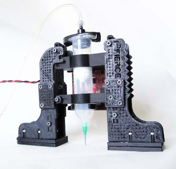The Pfiercestruder, a DIY Makerbot frostruder