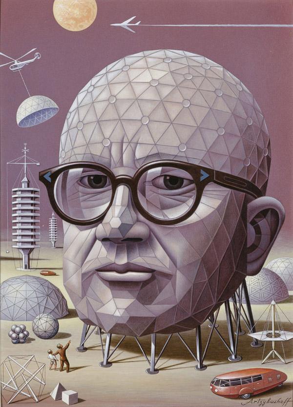 Happy birthday Buckminster Fuller, futurist