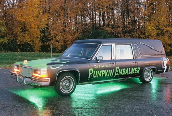 Maker Faire Detroit: Pumpkin Embalmer interview