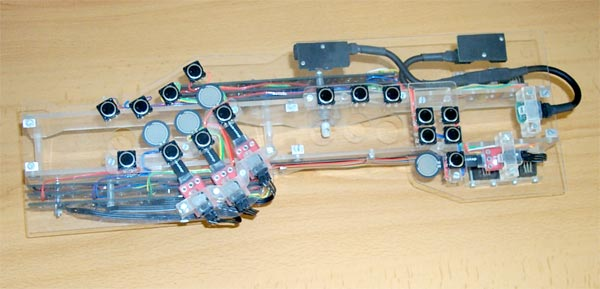 Modified wind instrument controller