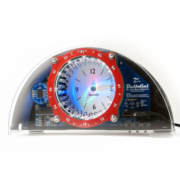 New in the Maker Shed: Bulbdial Clock kit