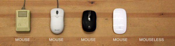 Invisible computer mouse is perfect accessory for mimes