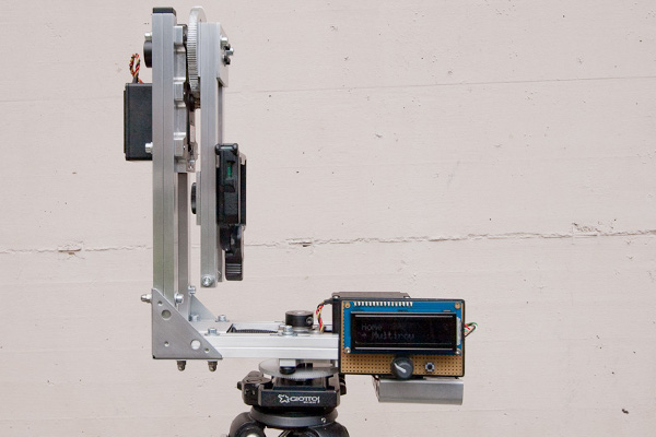 Panobotor, a DIY panoramic and orbital panorama machine