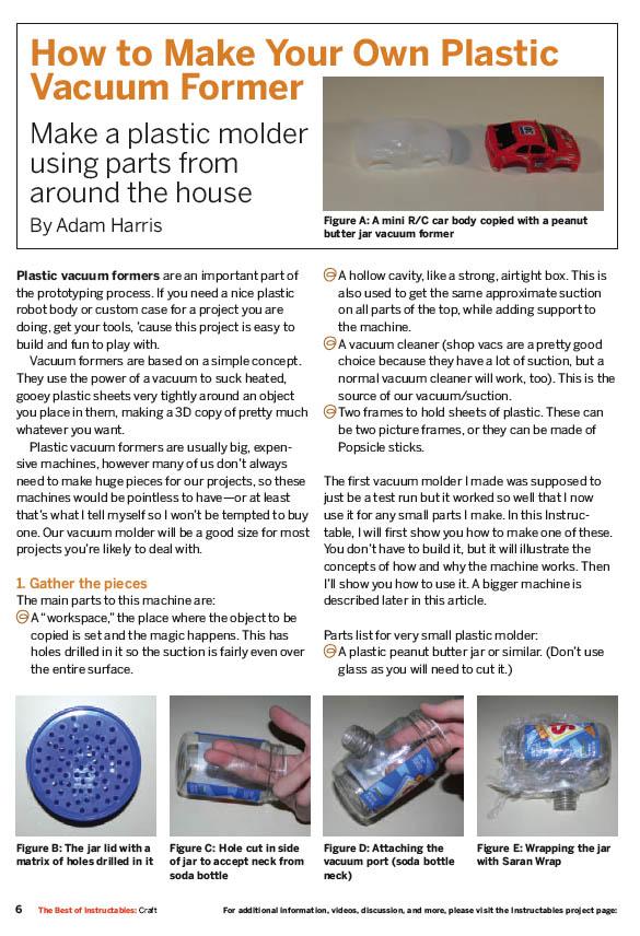 Toolbox: DIY Vacuum former