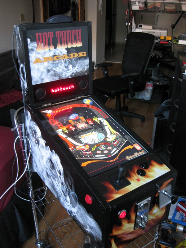 Third-scale pinball emulator
