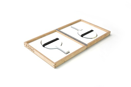 POV ping-pong paddles