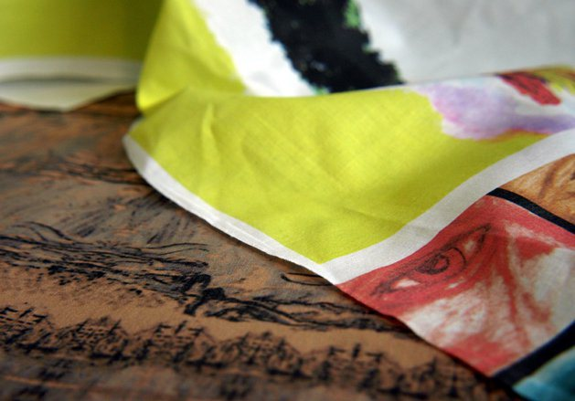 image about Ink Jet Printable Fabric referred to as How-Toward: Print upon Material with an Inkjet Printer Crank out: