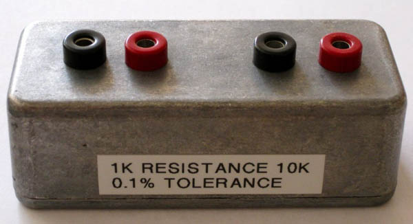 Simple, homebrewed electronics lab calibration equipment