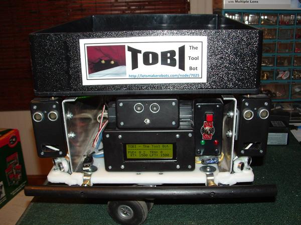 TOBI, a tool-carrying robot