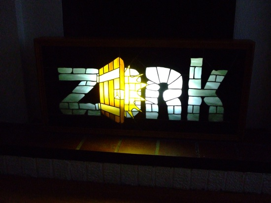 Zork Stained Glass Window