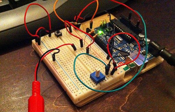Arduino pong!