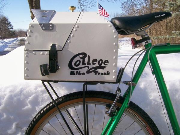 MAKE 23: Bike trunk from sheet metal
