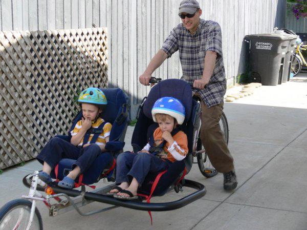 Cargo Bike: Kid-hauling edition