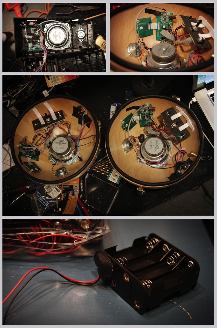 Good-looking Ikeahacked speakers