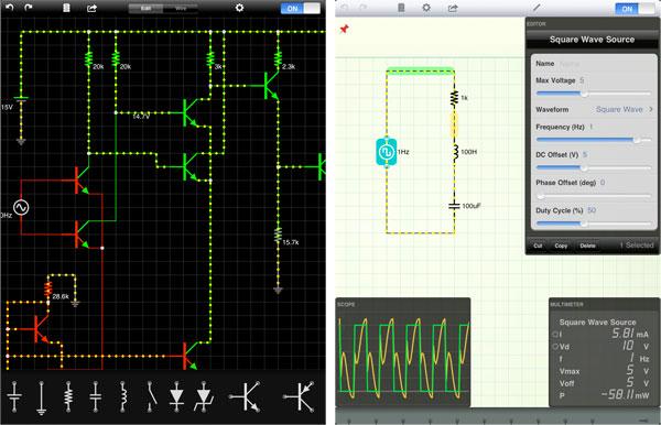 Electric Circuit Simulator Ios - Wiring Diagrams •