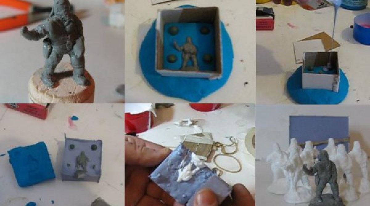 How-To: Cast your own miniatures from a master model | Make: