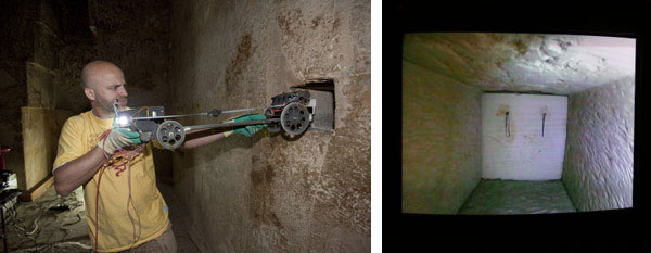 "ROV to penetrate ancient ""door"" in Great Pyramid"