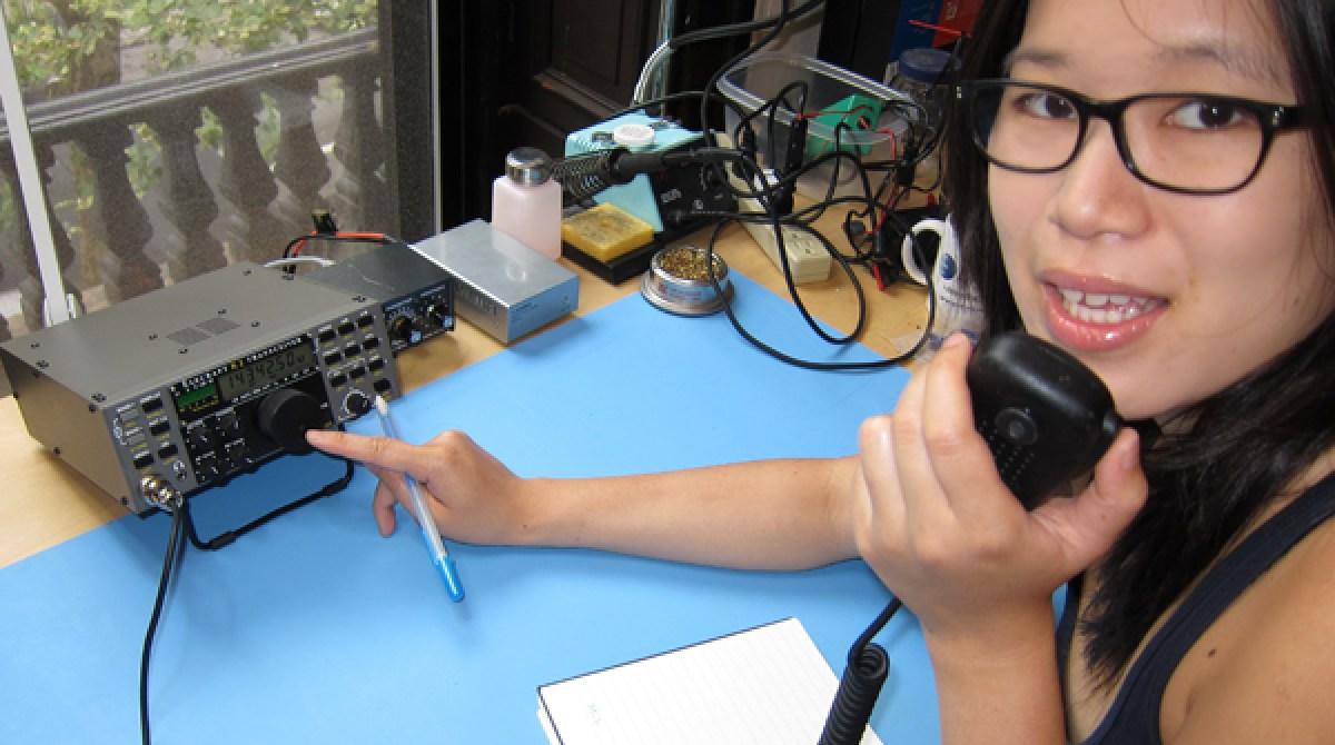 Setting Up a Ham Radio Shack | Make: