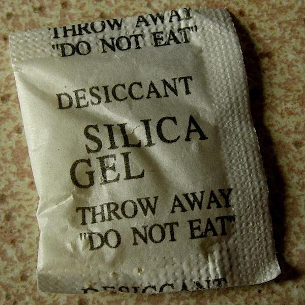 Reusing desiccant packs