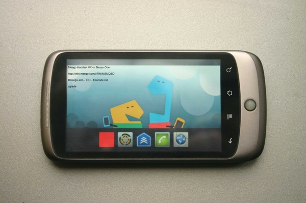 Meego on Android hardware