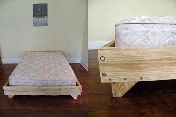 Nice Diy Bedframe Design Make