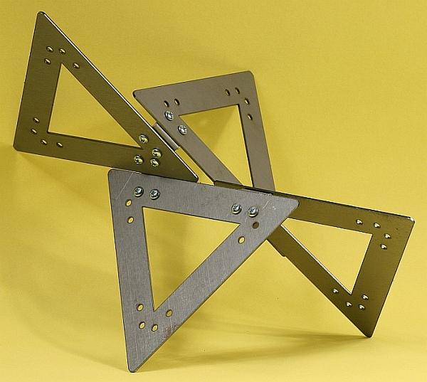Math Monday: Geometric sculpture barn raising in DC