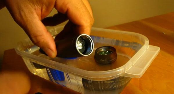 DIY  LED dive light