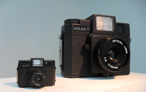 Giant Holga camera