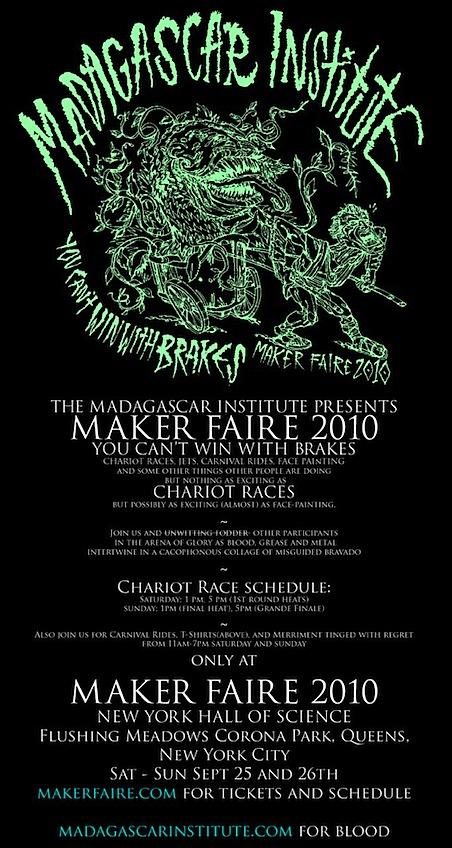 Madagascar Institute Maker Faire Poster