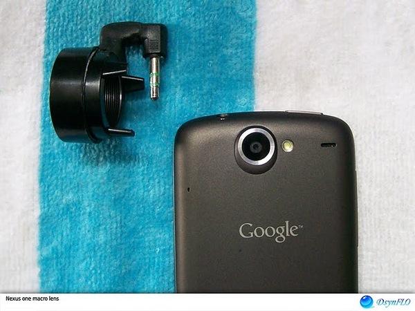DIY macro lens for Nexus One