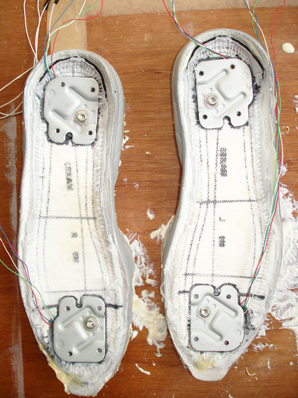 Wii-controller Nikes