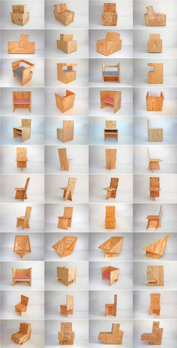 Plywood chair bonanza