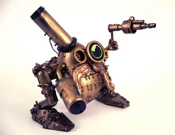 Steampunk Mr. Potato Head!