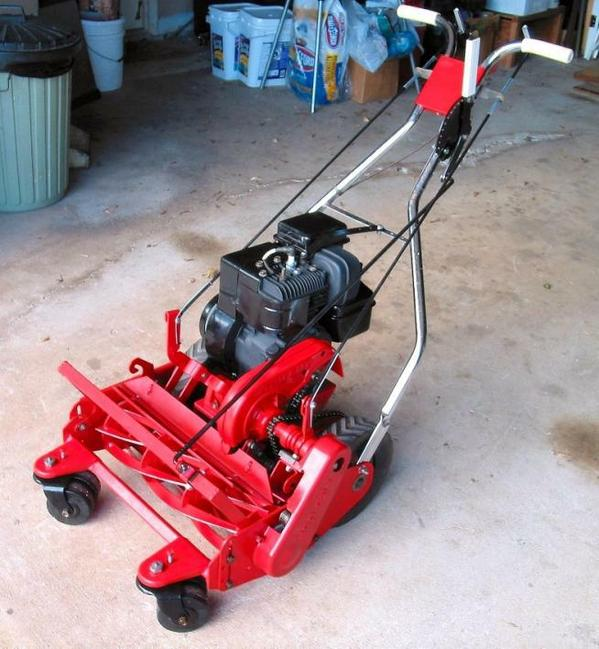 Gorgeous rebuilt Tru-Cut reel mower