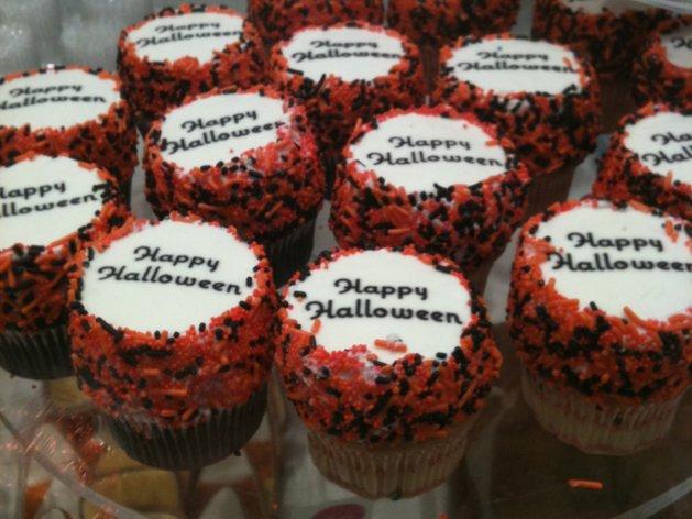 Eleni's Halloween Cupcakes