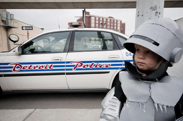 Part Kid, Part Machine, All Cop