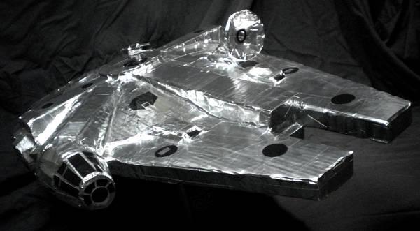 So that's an Aluminum Falcon…