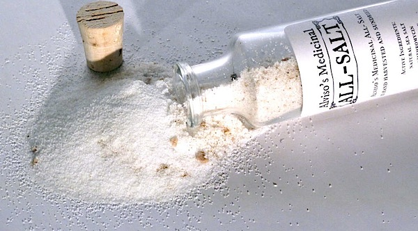 Medicinal all-salt with water supply pharmaceuticals