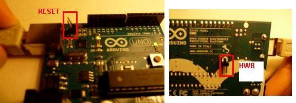 Using an Arduino as a joystick