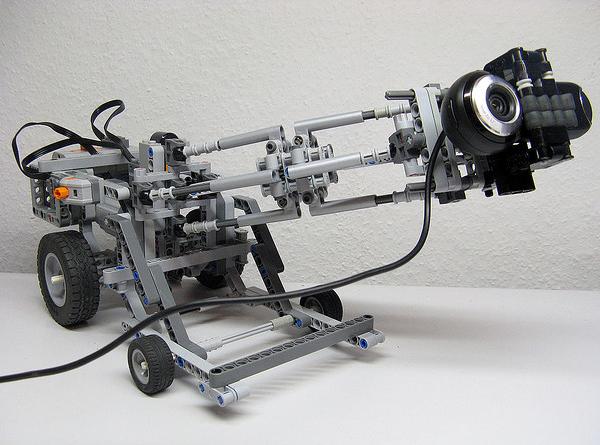 Lego Technic camera dollies