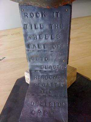 Delirium wheel trophy