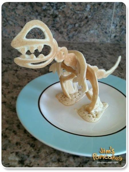 Pancake dinosaurs!